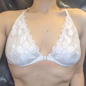 Aerie Happy Beautiful white bra